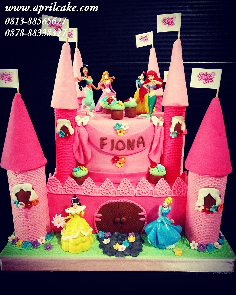 Princess Castle Cake Fiona