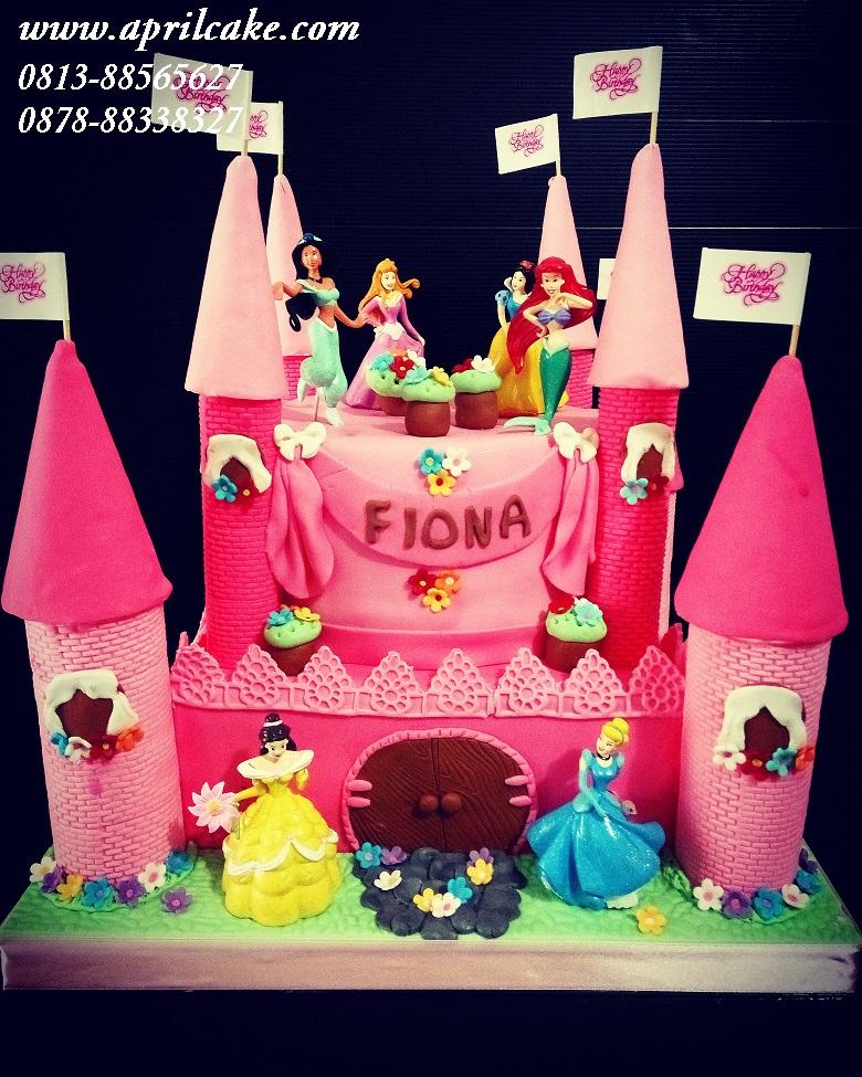 Princess Castle Cake Fiona