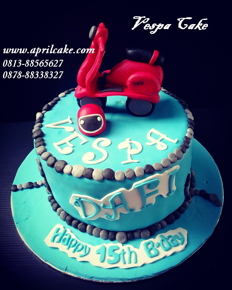 Vespa Cake Daffa April Cake