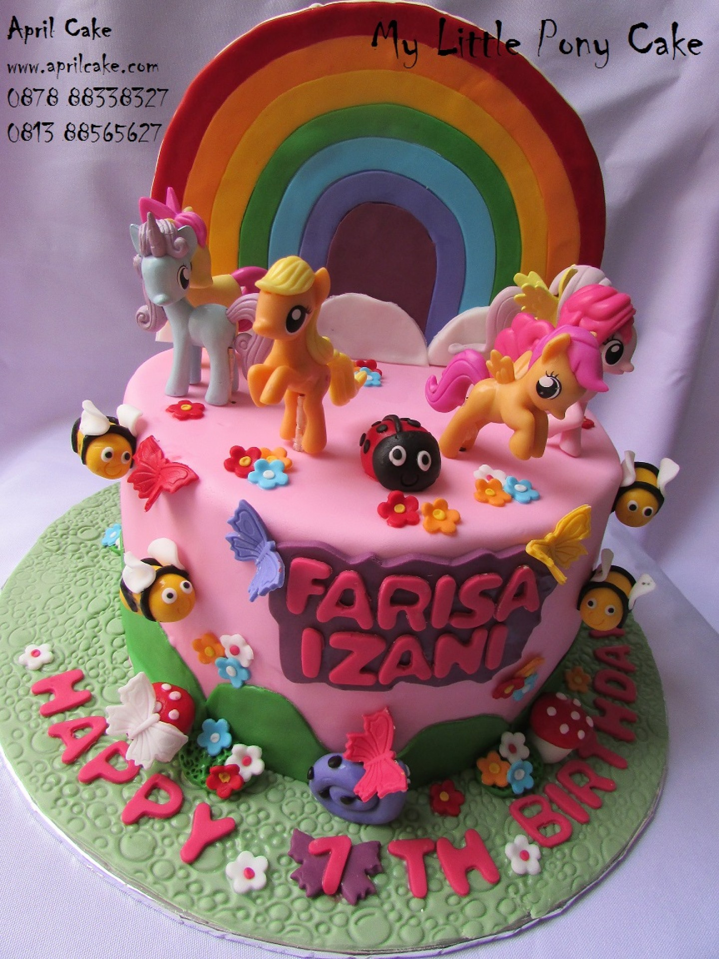 Myl Ittle Pony Birthday Cake