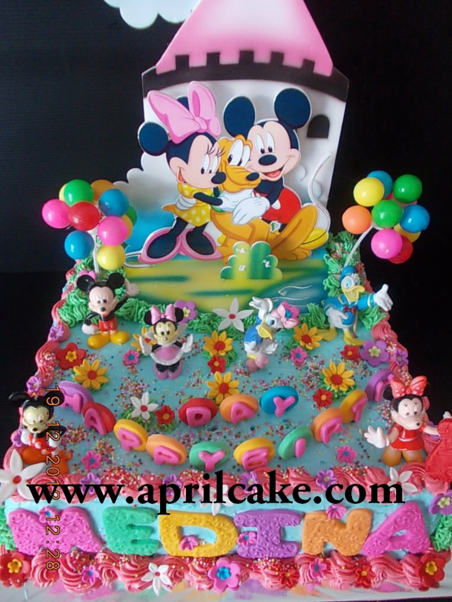 Mickey Mouse April Cake