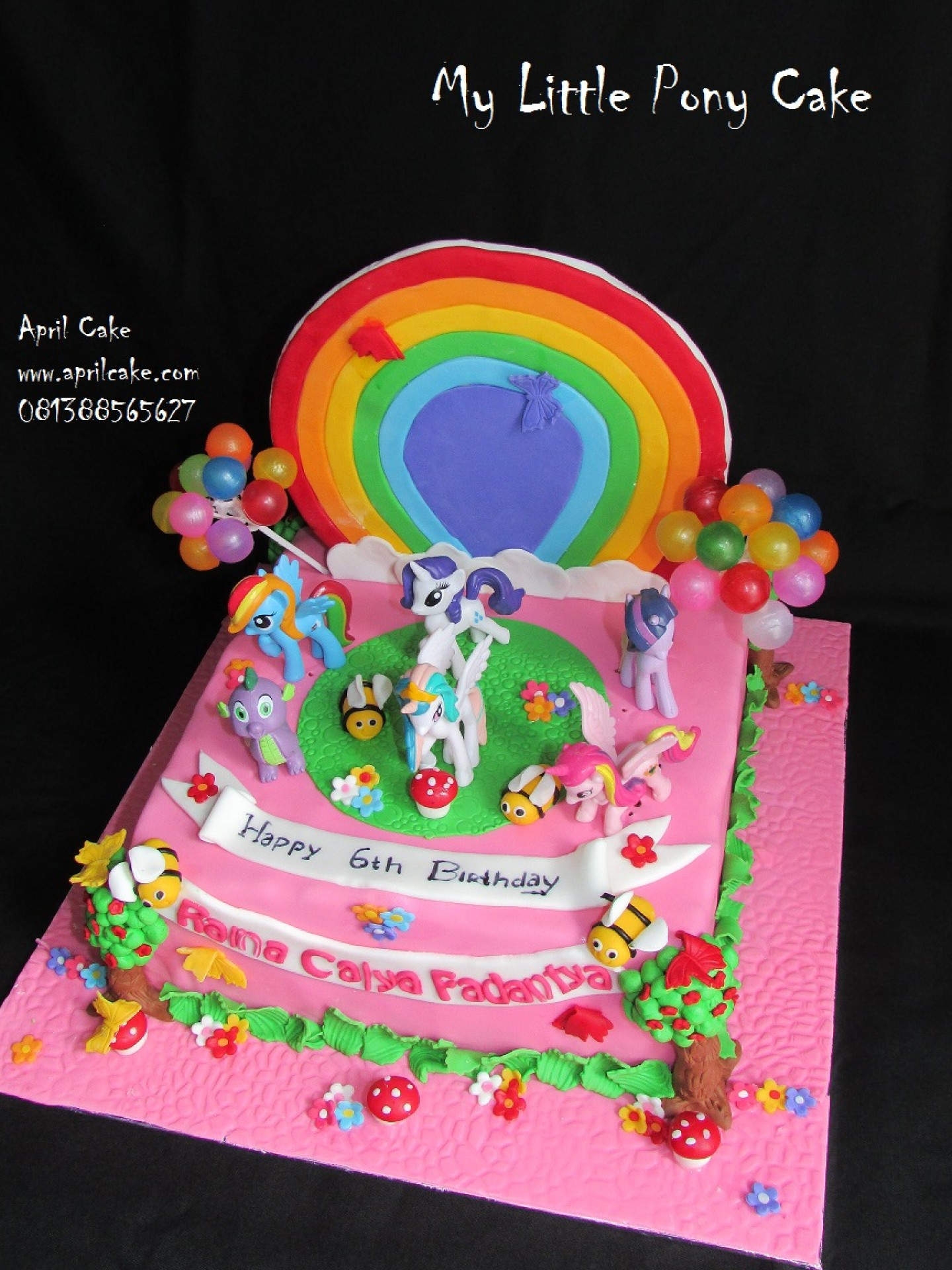 My Little Pony April Cake