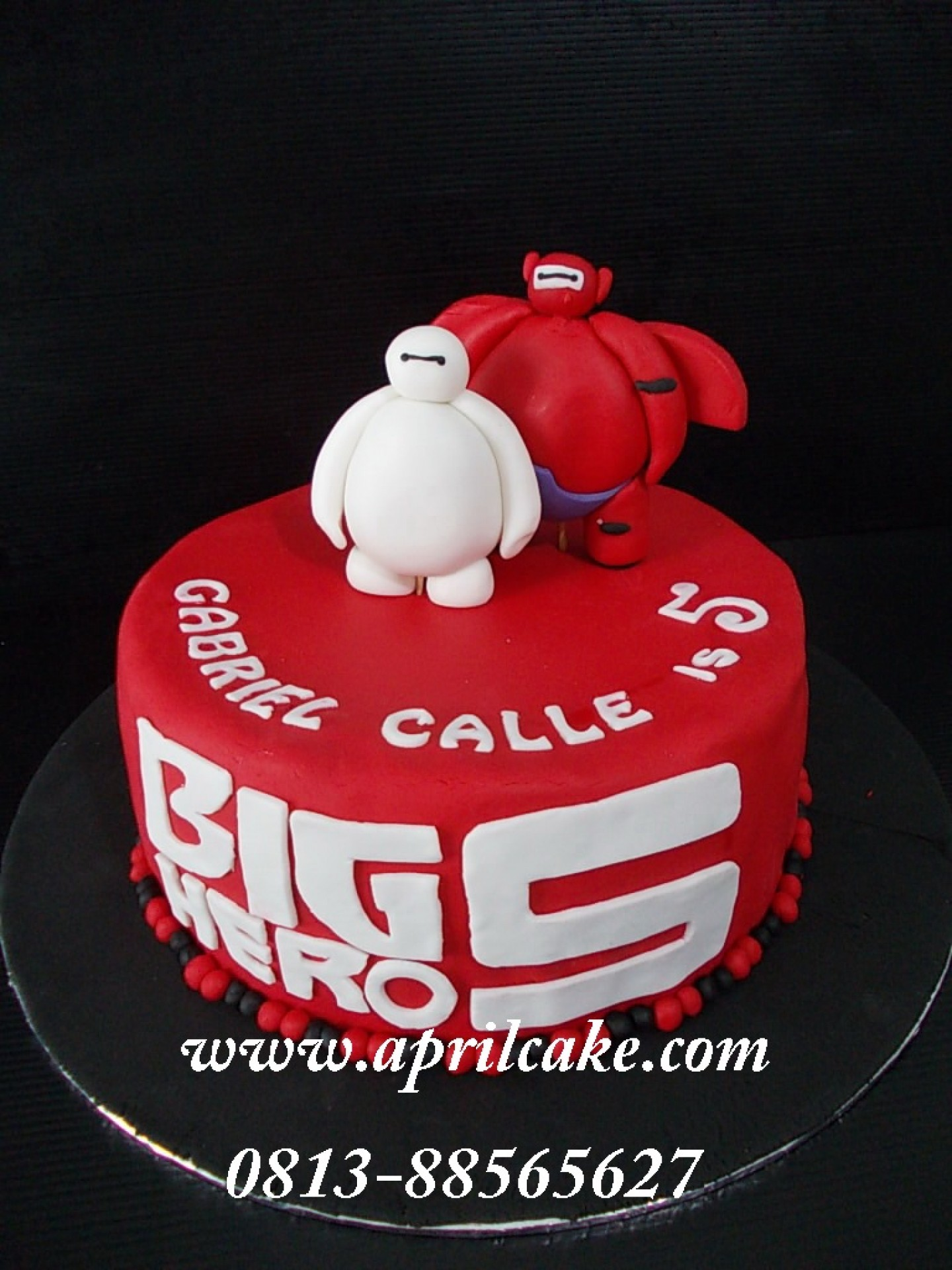 Baymax April Cake