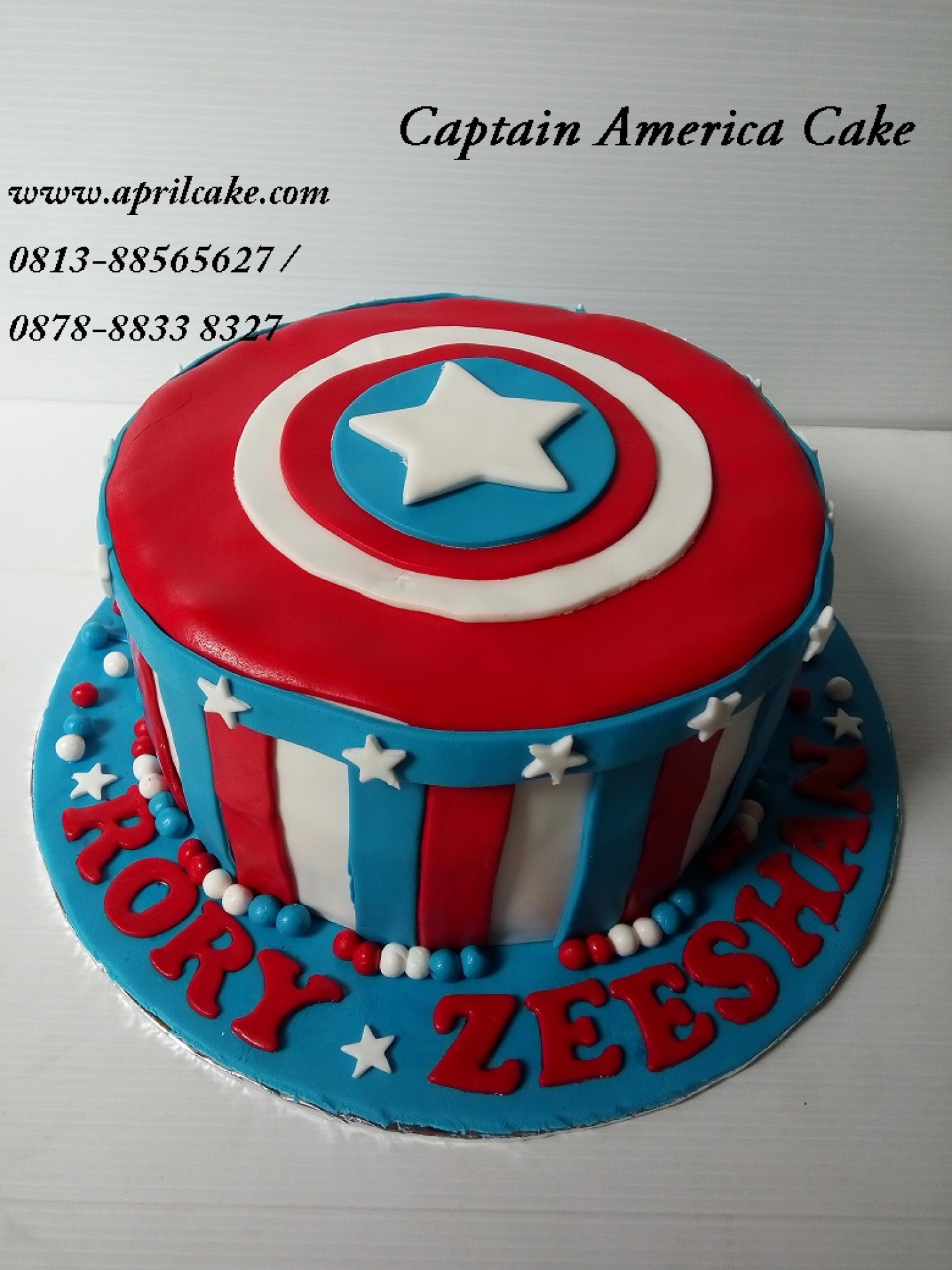 Captain America April Cake