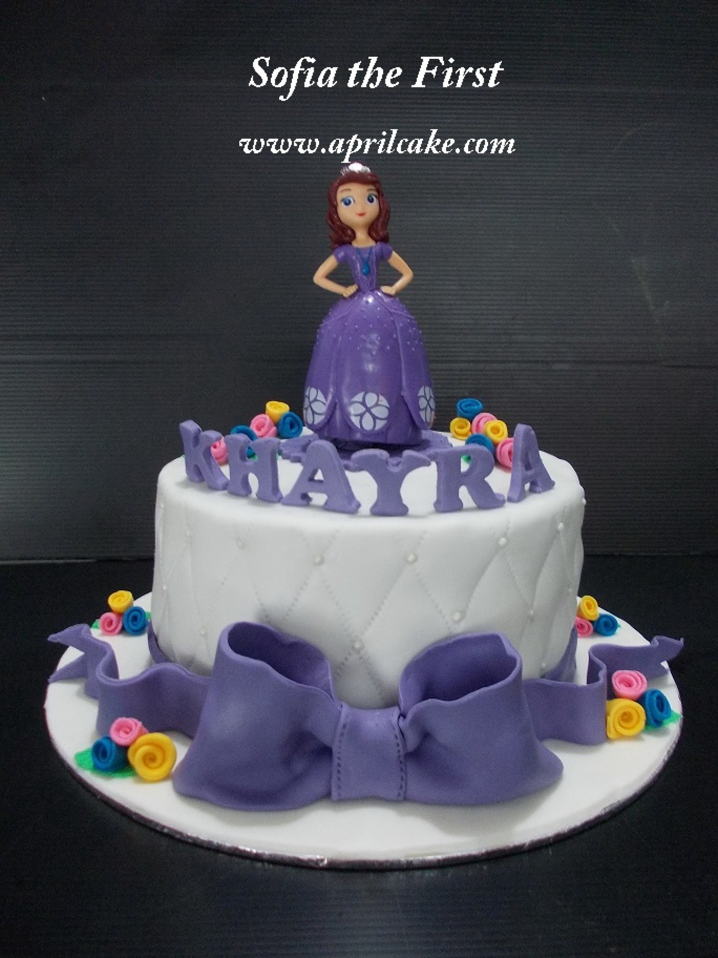 Sofia The First April Cake