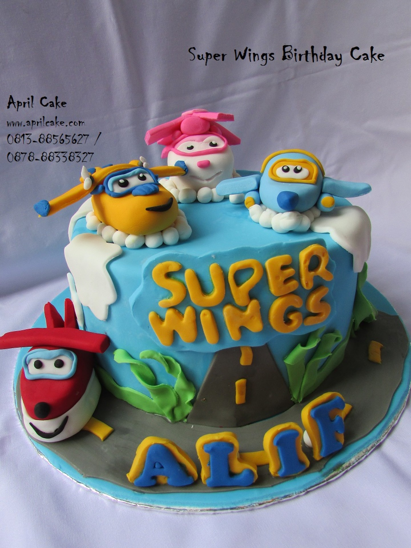 Super Wings Cake April Cake